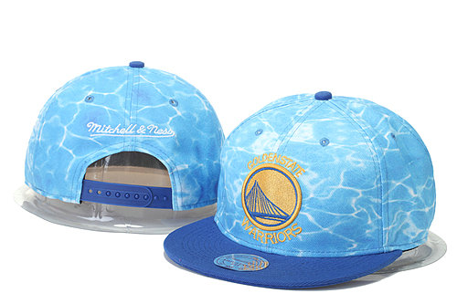 Golden State Warriors Snapback Hat GS 0620