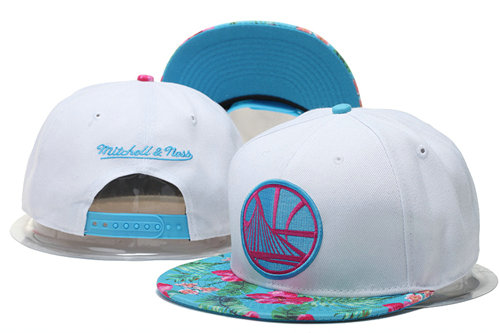 Golden State Warriors Snapback White Hat GS 0620