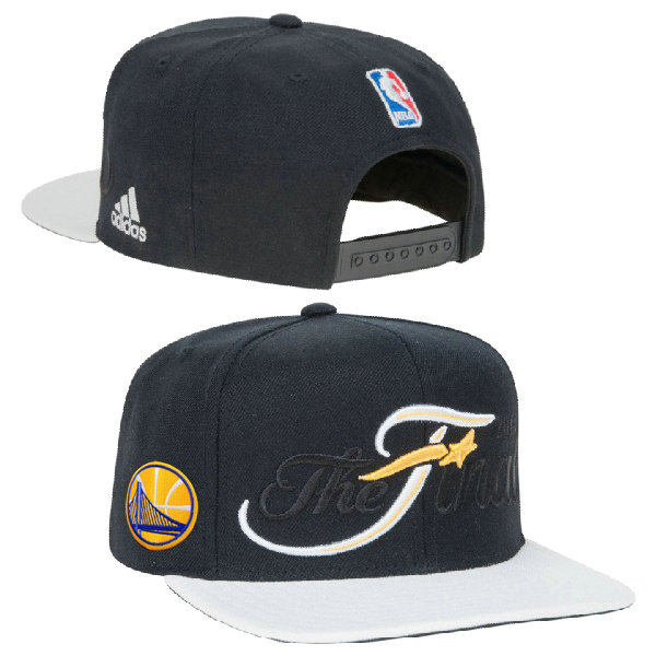 Golden State Warriors The Final Snapback Black Hat XDF 0620
