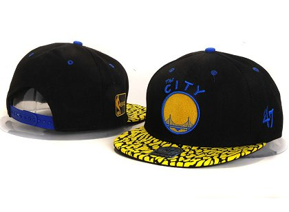 Golden State Warriors New Snapback Hat YS E50