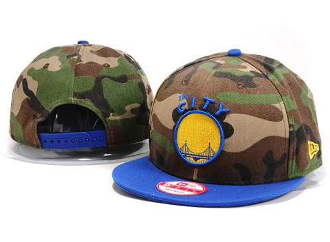 Golden State Warriors NBA Snapback Hat YS190