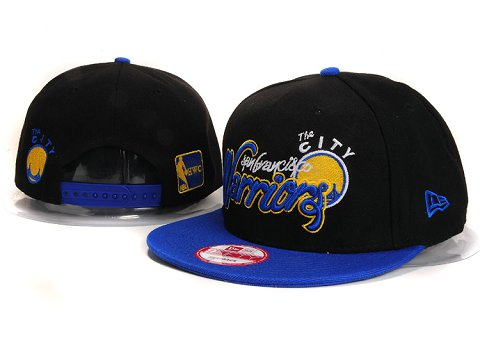 Golden State Warriors NBA Snapback Hat YS297