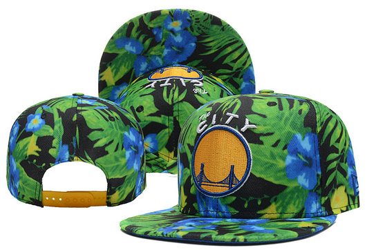 Golden State Warriors Snapback Hat 2 XDF 0526