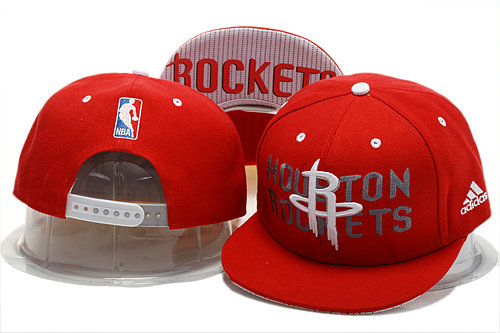 Houston Rockets Red Snapback Hat YS 0721