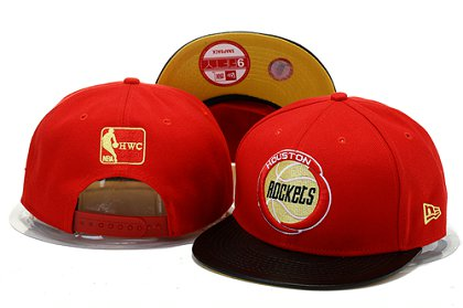 Houston Rockets Snapback Hat YS B 140802 10