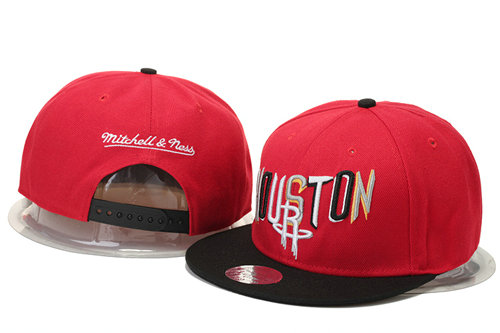 Houston Rockets Snapback Red Hat GS 0620