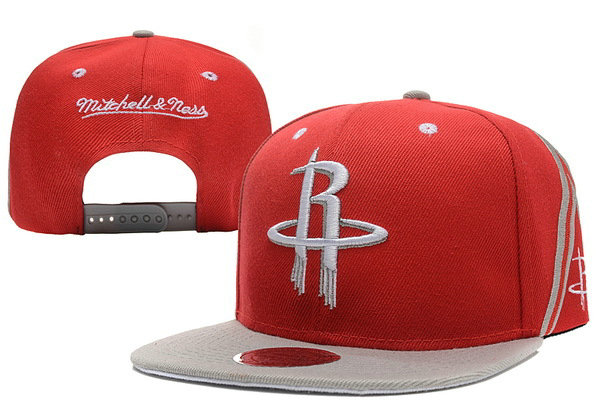 Houston Rockets Snapback Red Hat XDF 0620