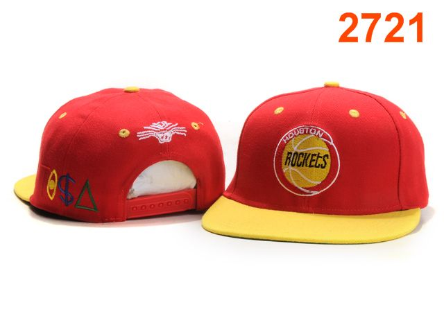 Houston Rockets TISA Snapback Hat PT28
