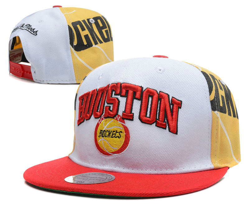 Houston Rockets Snapback Hat DF 0512