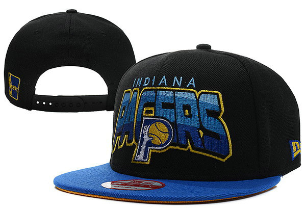Indiana Pacers Black Snapback Hat XDF