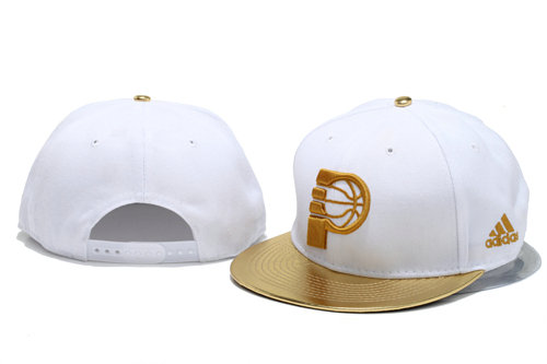 Indiana Pacers White Snapback Hat YS