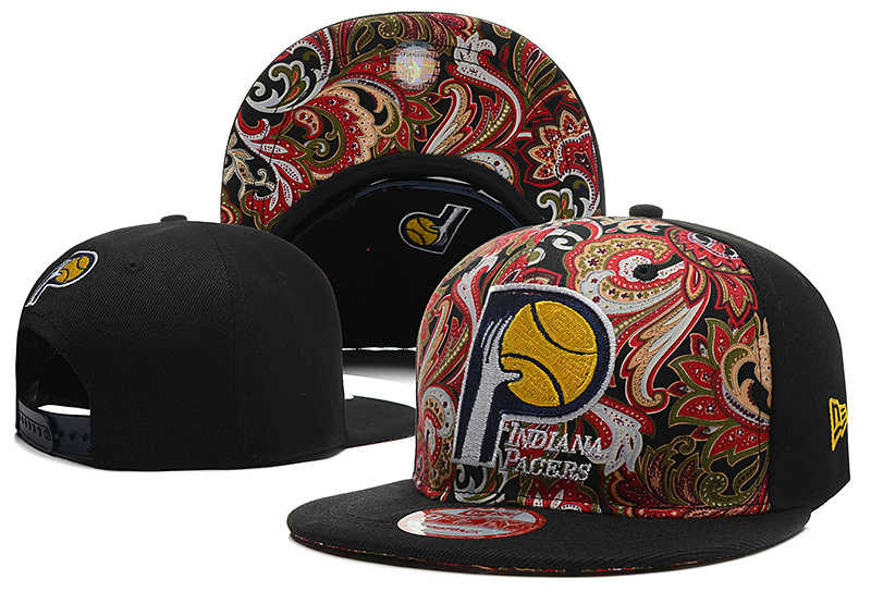 Indiana Pacers Snapback Hat DF 0613