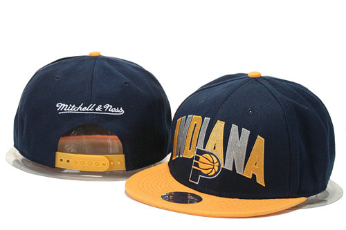Indiana Pacers Snapback Navy Hat GS 0620