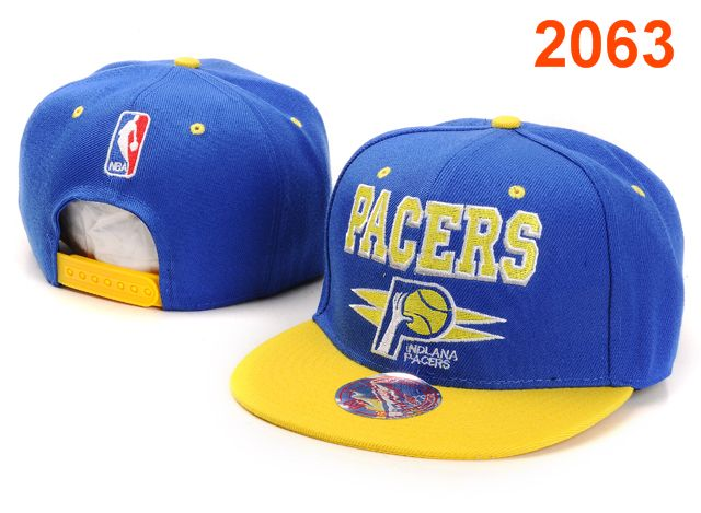 Indiana Pacers NBA Snapback Hat PT043