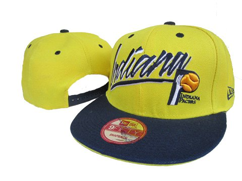 Indiana Pacers Snapback Hat LX73