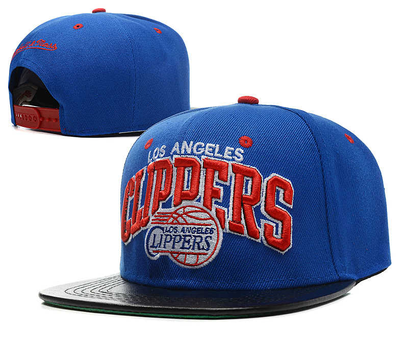 Los Angeles Clippers Blue Snapback Hat SD