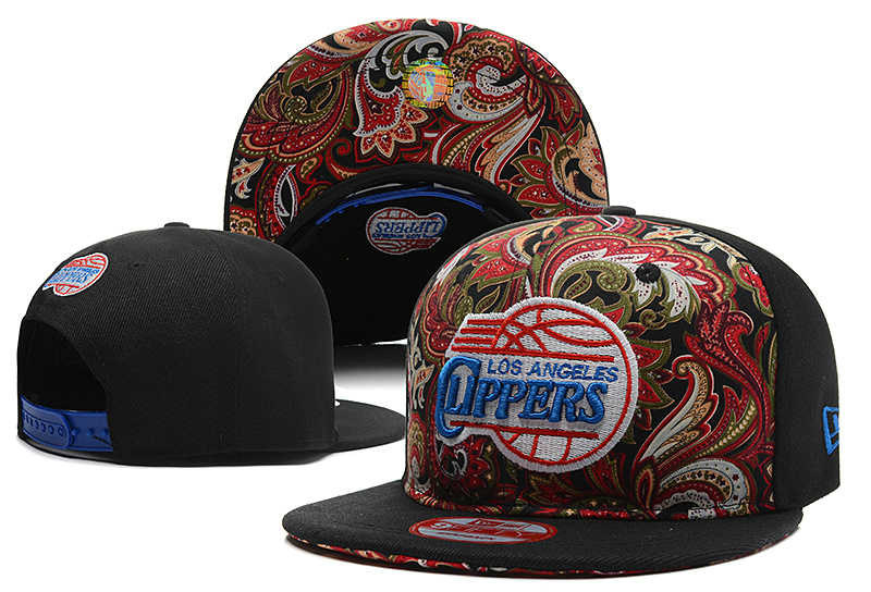 Los Angeles Clippers Snapback Hat DF 0613