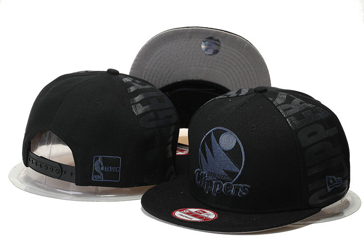 Los Angeles Clippers Snapback Black Hat GS 0620
