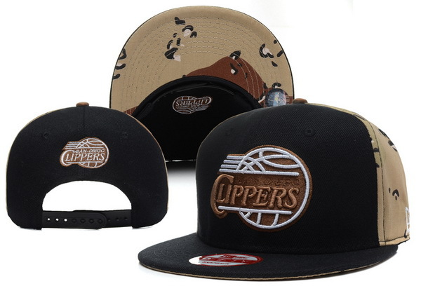 Los Angeles Clippers Snapback Hat XDF 1
