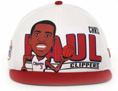 Los Angeles Clippers NBA Snapback Hat 60D4