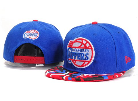 Los Angeles Clippers NBA Snapback Hat YS258