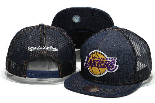 Los Angeles Lakers Mesh Snapback Hat YS 0701