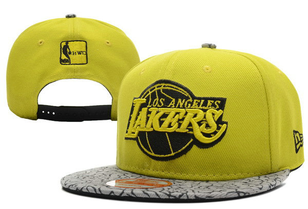 Los Angeles Lakers Snapback Hat XDF 0701