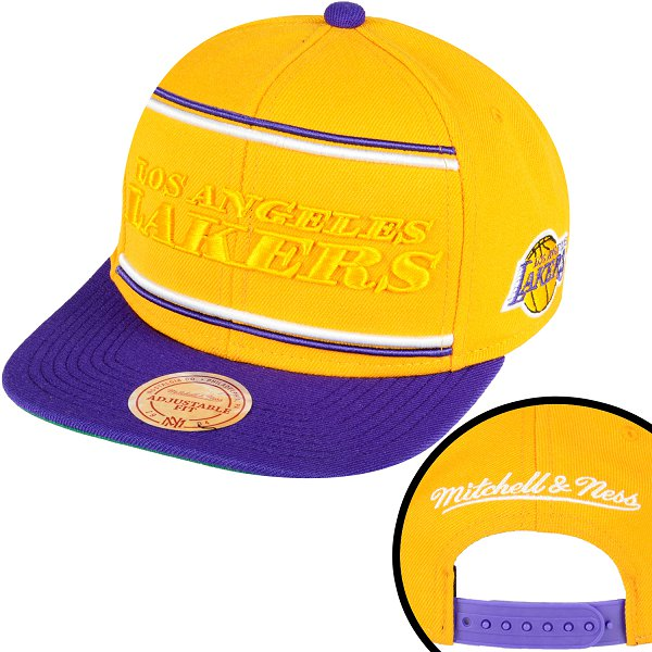 Los Angeles Lakers Snapback Hat SD 658
