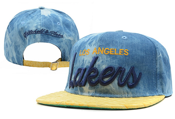 Los Angeles Lakers Snapback Hat XDF 308