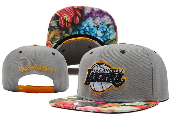 Los Angeles Lakers Snapback Hat XDF 509