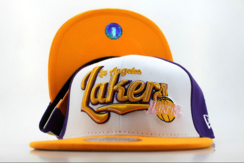Los Angeles Lakers Snapback Hat QH