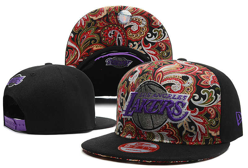Los Angeles Lakers Snapback Hat DF 0613
