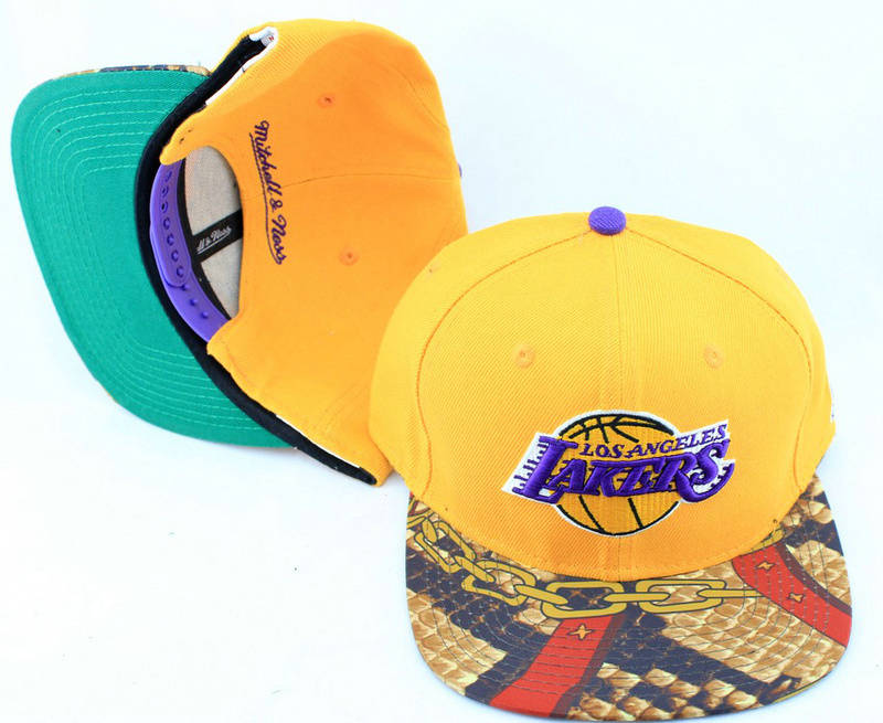 Los Angeles Lakers Snapback Hat JT 1 0613