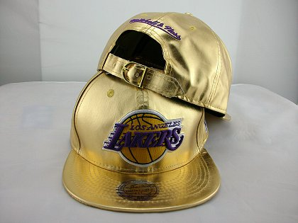 Los Angeles Lakers Snapback Hat JT 140802 15