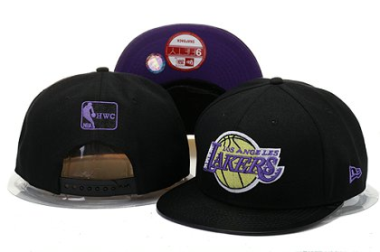Los Angeles Lakers Snapback Hat YS B 140802 11