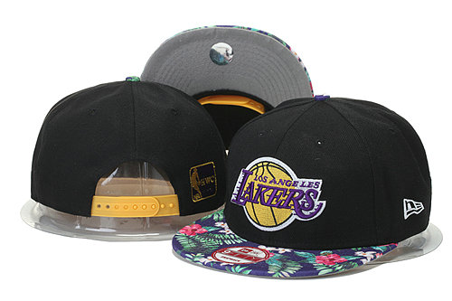 Los Angeles Lakers Snapback Black Hat 1 GS 0620