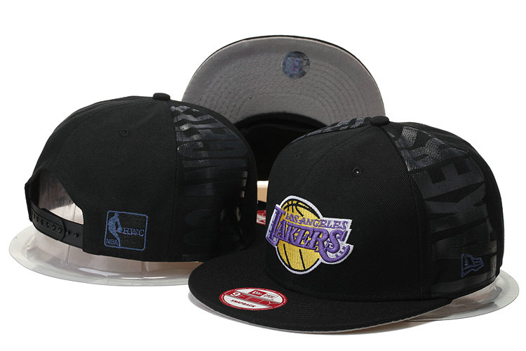 Los Angeles Lakers Snapback Black Hat GS 0620