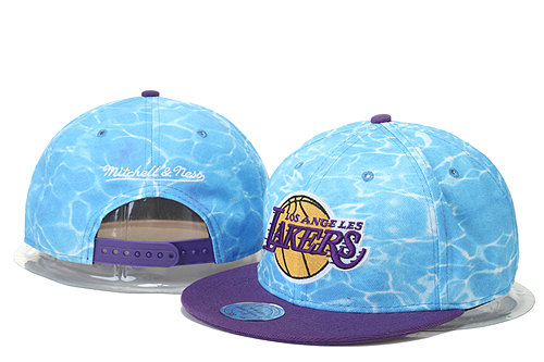 Los Angeles Lakers Snapback Hat GS 0620