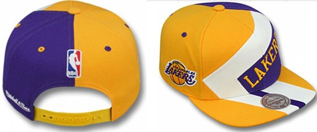 Los Angeles Lakers NBA Snapback Hat gf1