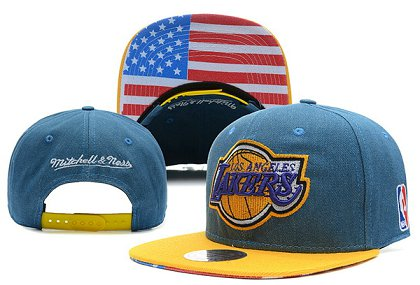 Los Angeles Lakers NBA Snapback Hat X-DF