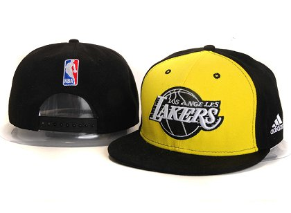 Los Angeles Lakers New Snapback Hat YS E51