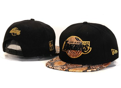 Los Angeles Lakers New Snapback Hat YS E79
