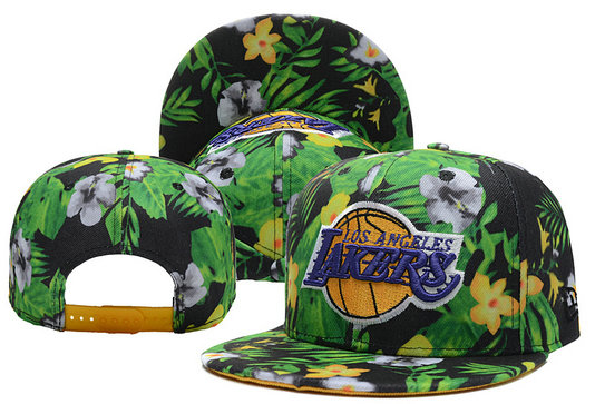 Los Angeles Lakers Snapback Hat XDF 0526