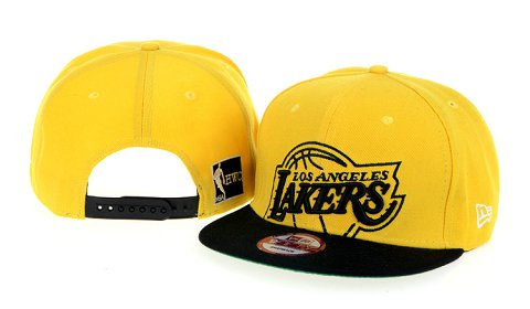 Los Angeles Lakers NBA Snapback Hat 60D01