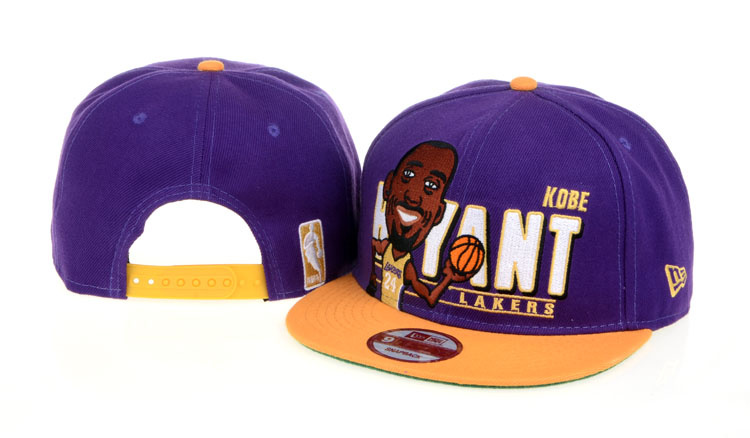 Los Angeles Lakers NBA Snapback Hat 60D03