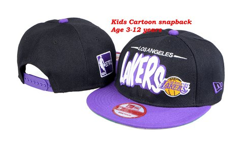 Los Angeles Lakers NBA Snapback Hat 60D06