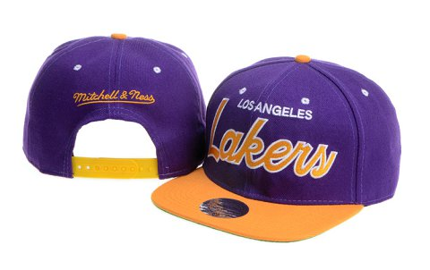 Los Angeles Lakers NBA Snapback Hat 60D07