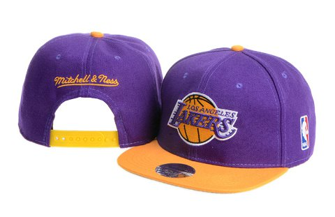 Los Angeles Lakers NBA Snapback Hat 60D08