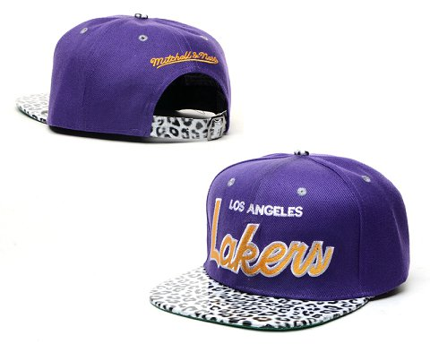 Los Angeles Lakers NBA Snapback Hat 60D13