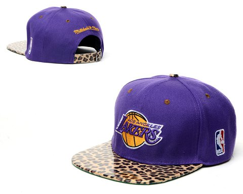 Los Angeles Lakers NBA Snapback Hat 60D14